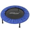 Physionics Robustes Mini-Trampolin mit 91 cm Durchmesser für drinnen und draußen mit rutschhemmenden Füßen -