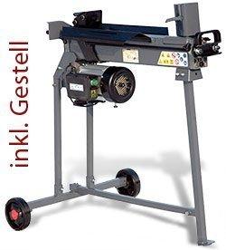 STAHLMANN® Holzspalter 7 Tonnen / 520mm liegend (inkl. Spaltkreuz und Tisch!) mit stufenlos verstellbaren Spaltweg bis max. 520 mm! TÜV/CE zertifiziert! -