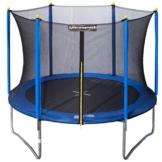 Ultrasport Gartentrampolin inklusive Sicherheitsnetz Uni-Jump, Blau, 366 cm, 331300000256 -