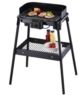 Severin PG 2792 Barbecue-Elektrogrill schwarz -