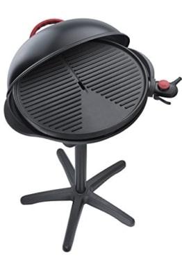 Steba VG 300 elektrischer Barbecue-Hauben-Grill, schwarz / rot -